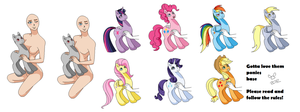 Why, yes, I am a brony :BASE: by brat-the-twitchy-one