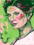 Irene Adler from BBC Sherlock by one-more-miracle