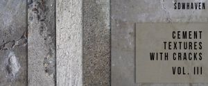 Cement Textures with Cracks 3 by sdwhaven