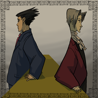 phoenix and edgeworth by dobie