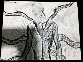 Slenderman (inspired) by BlondieAu