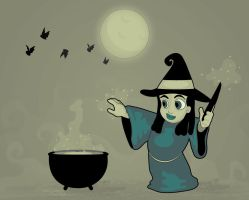 Witch's Brew by Tabbathehutt