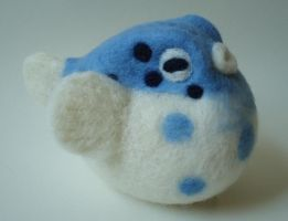 Large Blue Fugu by Lobster-Ball
