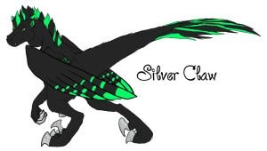 Sketch 1- A Silver Claw by DragonsFlameMagic
