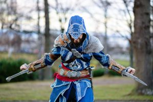Ezio cosplay by Sherlockian
