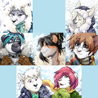 Winter Icons 2013 by TheTiedTigress