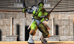 Hulk Gladiator 2 by hiram67