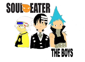 Soul Eater teh boys by realtimelord