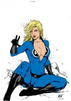 Sue Storm  By Leomatos2014 by Kenkira
