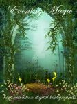 Evening Magic fantasy backgrounds kayshalady by kayshalady