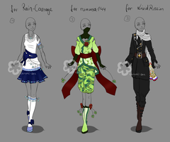 Custom Outfits #11 by Nahemii-san