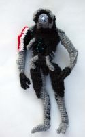 Mass Effect Legion amigurumi by diygeekess