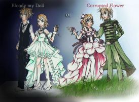 CMV Bloody my doll or Corrupted Flower by chowitsu