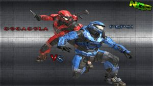 Halo NGP Wallpaper HD Cocacola VS Pepsi by NexGenPlayer