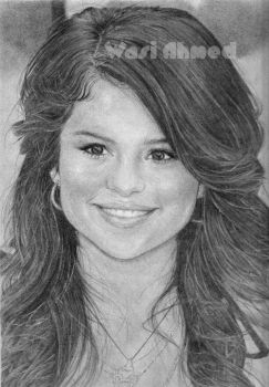Selena Gomez Redrawn by electrifeir4