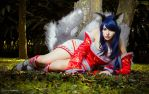 Ahri League Of Legends  by CamiAloy