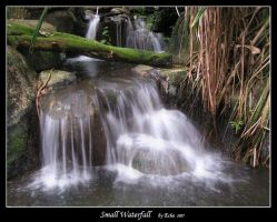 Small Waterfall by leeecho