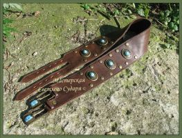 Celtic Belt with turquoise by Svetliy-Sudar