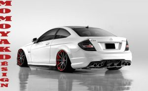 Mercedes C63 AMG Coupe by MOMOYAK by MOMOYAK