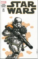 Sandtrooper Star Wars sketch cover by nguy0699