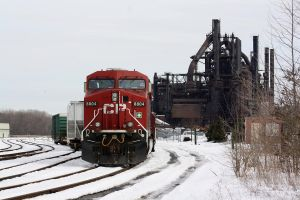 Bethlehem Steel Looms Over CP by Kaback9