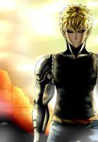 One-Punch Man : Genos by Liptan