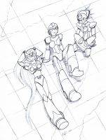 MMX group resting by purpleangelwings