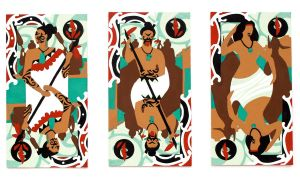 Maori Playing Cards by Nimbus2005
