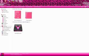 Pink Win 7 theme by Andrada24T
