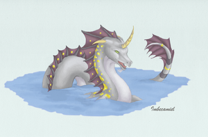 Unicorn of the Sea by Imbecamiel