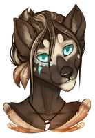 Commission for sunboundwolf #04 by Felidre