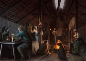 Viking House by EthicallyChallenged