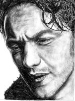 James McAvoy 2 by Claire-Elise17