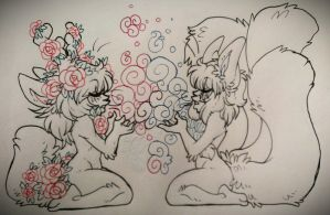 Exchanging.Gifts:INKS::..+ by Uriko44