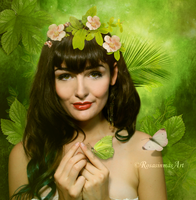 Green Fantasy by ROSASINMAS