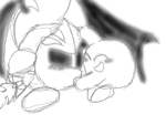 Meta Knight and Kirby by DJ-Funtime