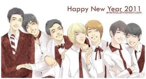 Happy New Year 2011 by EverKiss