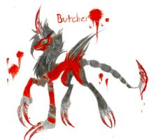 Butcher by FuneralDyingheart