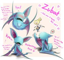 My Zubat is so cute by KickTyan