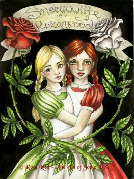 Snow-White and Rose-Red by Laiyla