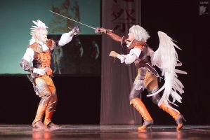 LineAge II on-stage by Hide-Out: ACTION by ElenaLeetah