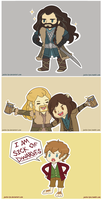 The Hobbit Chibis by Jackie-lyn