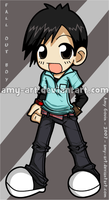 Pete Wentz - Fall Out Boy by amy-art