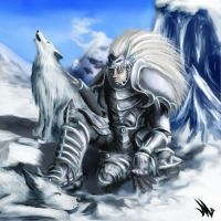 Of Wolves and men by XRENOU