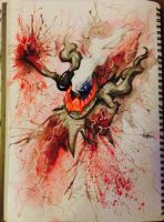 Pokemon ~ Darkrai by Aimss-Art