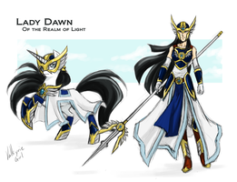 Lady Dawn, Realm of Light by Lionel23