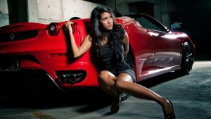 Ferrari Girl by bradyrichie
