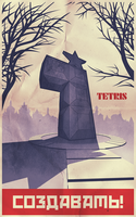 Tetris Monument by AbelMvada
