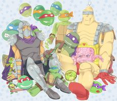Sweet turtle-day! by LinART