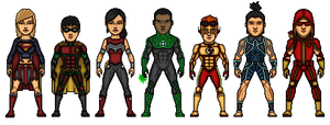 1st Teen Titans by TheNewDCU